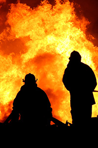 Real Consequences: fire fighter image